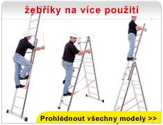 žebříky na více použití