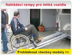 Nakládací rampy pro lehká vozidla