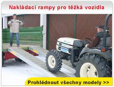Nakládací rampy pro těžká vozidla