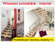 Přízemní schodiště - interiér
