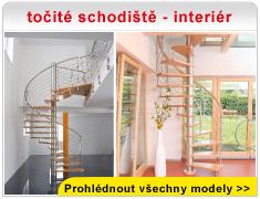 točité schodiště - interiér