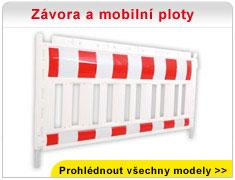 Závora a mobilní ploty