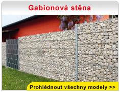 Gabionová stěna